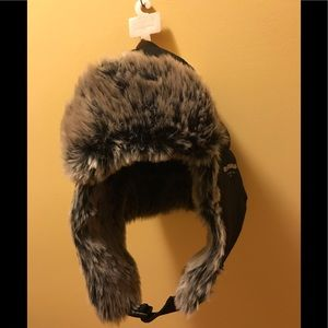 LEVI'S NWT MEN'S Trapper hat with faux fur